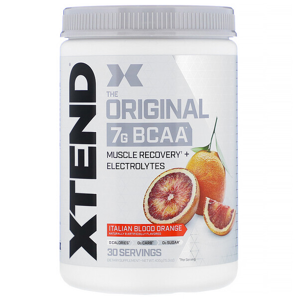 Xtend, The Original 7G BCAA, Italian Blood Orange, 15.3 oz (435 g)