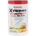 Xtend Energy, медленное высвобождение, кофеин + аминокислоты с разветвлённой цепью, нектар манго, 12,3 унц. (348 г) - изображение