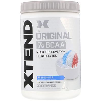 Купить Xtend The Original, 7г аминокислот с разветвленной цепью (BCAA), со вкусом «Ледяная свежесть», 420г (14, 8унции)