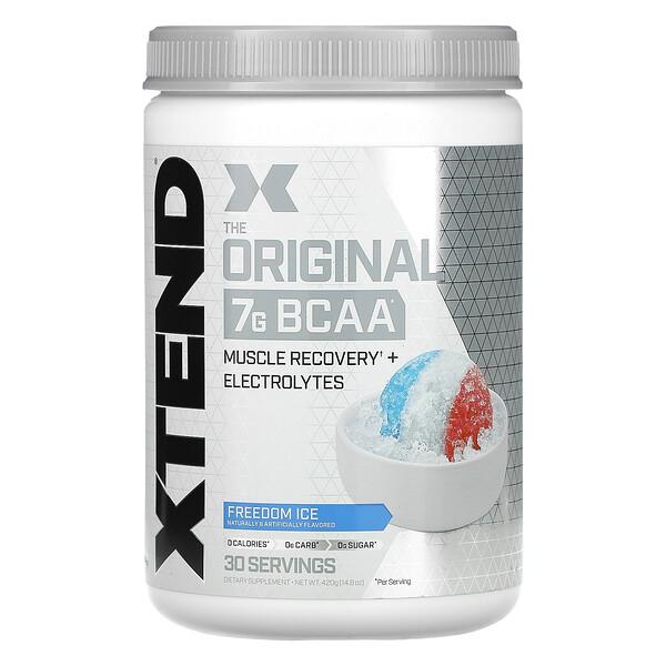 Xtend, The Original 7G 支鏈氨基酸,自由冰爽,14.8 盎司(420 克)