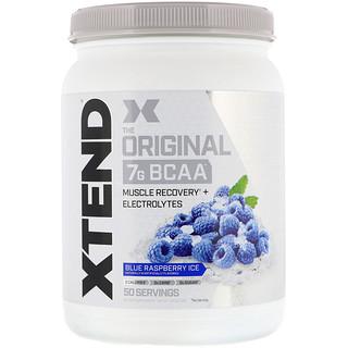 Scivation, Xtend, The Original 7g BCAA, Blue Raspberry Ice, 1.5 lb (700 g)