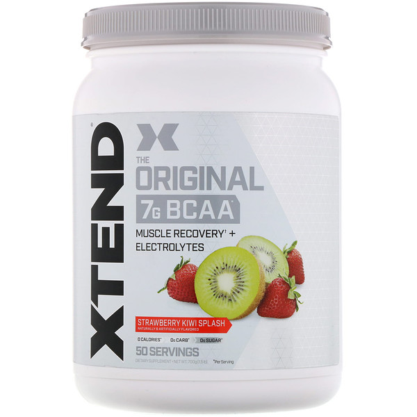 Xtend, The Original 7G BCAA, Strawberry Kiwi Splash, 1.5 lb (700 g)