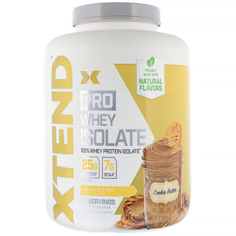Xtend Pro, Whey Isolate, Cookie Butter, 5 lb (2.28 kg)