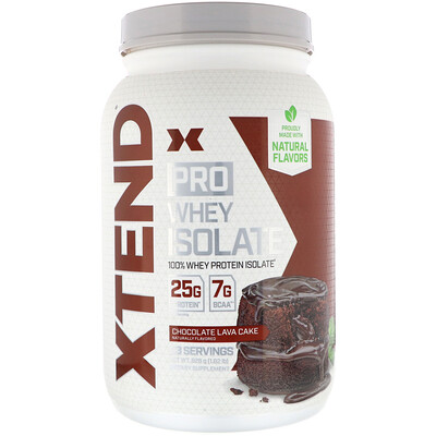 Купить Xtend Pro, сывороточный изолят, со вкусом шоколадного пирожного, 826г (1, 82фунта)