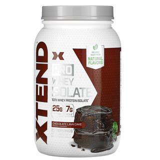 Xtend, Pro, сывороточный изолят, со вкусом шоколадного пирожного, 826г (1,82фунта)