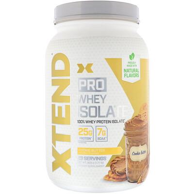Купить Xtend Pro, сывороточный изолят, со вкусом сливочного печенья, 805г (1, 77фунта)