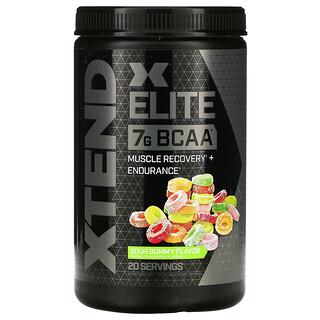 Xtend, Elite, 7 g BCAA, Sour Gummy Flavor, 12.7 oz (360 g)