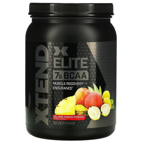 Xtend, Elite، الأحماض الأمينية متشعبة السلسلة 7G، نكهة مزيج الفواكه المنعش، 1.19 رطل (540 جم) (Discontinued Item)