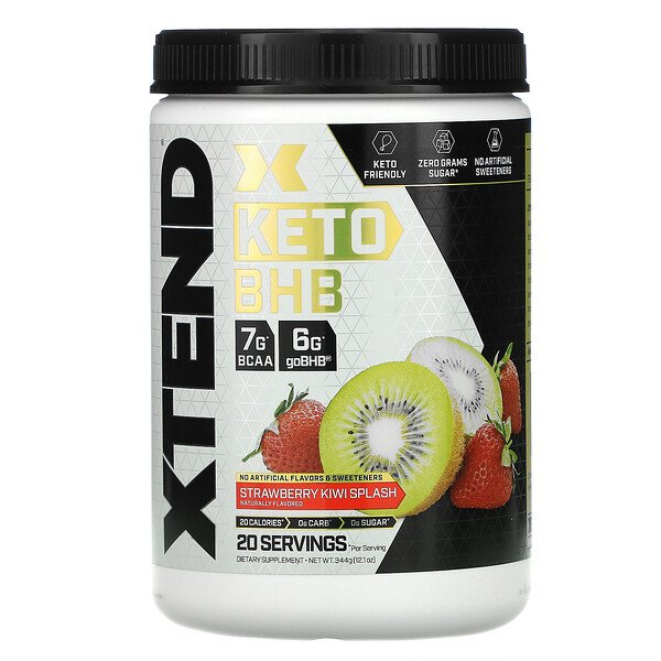 Keto BHB, Strawberry Kiwi Splash, 12.1 oz (344 g)