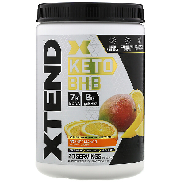 Keto BHB, Orange Mango, 11.7 oz (332 g)