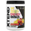 Xtend, طاقة كيتو، بنكهة كوكتيل الفواكه، 12 أونصة (340 جم)