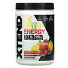 Xtend, Keto Energy, Knockout Fruit Punch, 12 oz (340 g)
