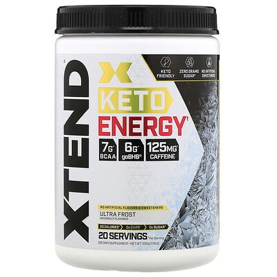 Купить Xtend Keto Energy, со вкусом «Ультрасвежесть», 330г (11, 6унции)