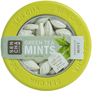 Sencha Naturals, Green Tea Mints, Moroccan Mint, 1.2 oz (35 g) отзывы покупателей