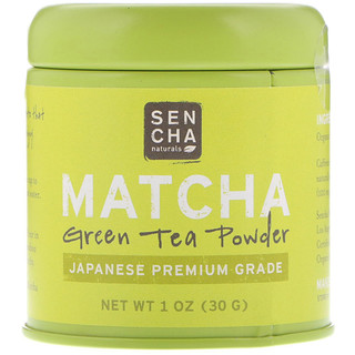 Sencha Naturals, Matcha, Green Tea Powder, Japanese Premium Grade, 1 oz (30 g)