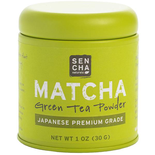 Sencha Naturals, 抹茶,綠茶粉,日本特級,1盎司(30克)