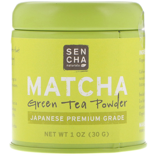 Matcha, Green Tea Powder, Japanese Premium Grade, 1 oz (30 g)