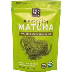 Sencha Naturals, 抹茶,綠茶粉,日本日常等級,4盎司(113克)