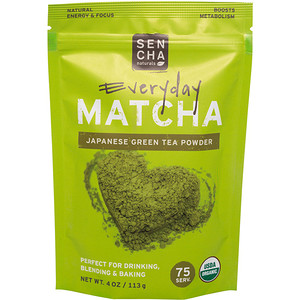 Sencha Naturals, Matcha, Green Tea Powder, Japanese Everyday Grade, 4 oz (113 g) отзывы покупателей