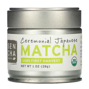 Sencha Naturals, Ceremonial Japanese Matcha, 1 oz (28 g) отзывы