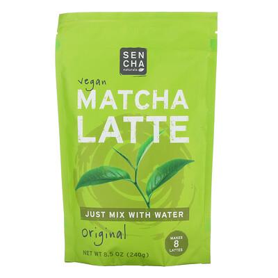 Купить Sencha Naturals Vegan Matcha Latte, Original, 8.5 oz (240 g)