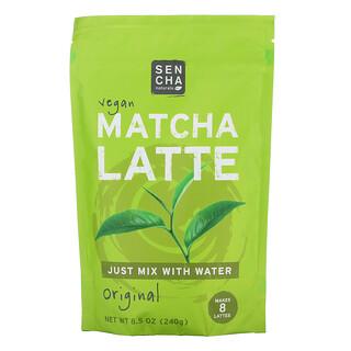 Sencha Naturals, 全素食抹茶拿鐵,原味,8.5 盎司(240 克)