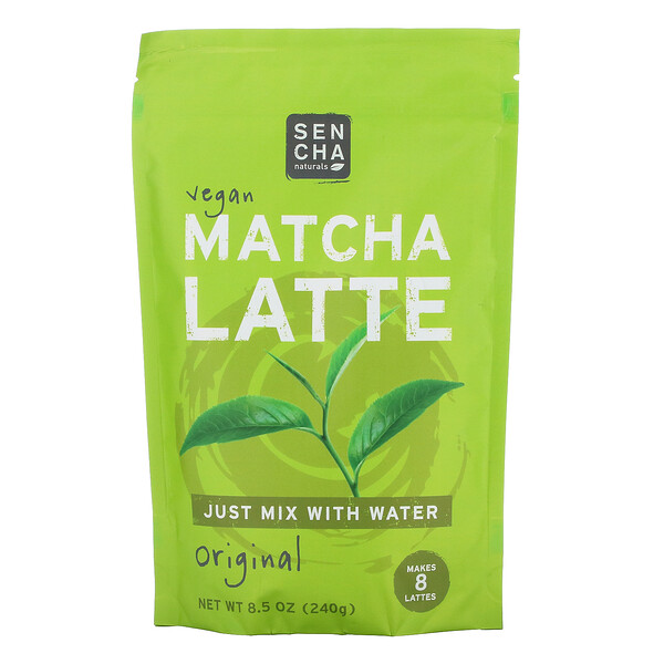 Vegan Matcha Latte, Original, 8.5 oz (240 g)