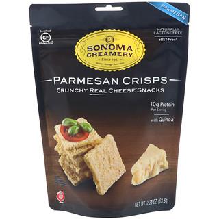 Sonoma Creamery, Parmesan Crisps, Parmesan, 2.25 oz (63.8 g)
