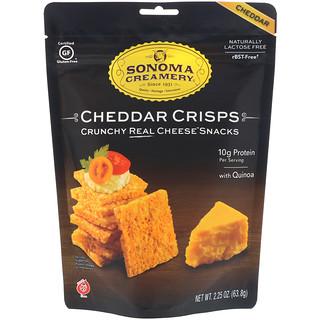 Sonoma Creamery, Cheddar Crisps, Cheddar, 2.25 oz (63.8 g)