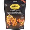 Sonoma Creamery, חטיפי קריספ צ'דר, בייקון, 63.8 גרם (2.25oz)