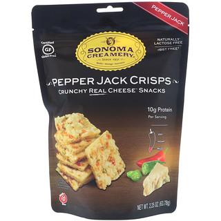 Sonoma Creamery, Pepper Jack Crisps, Pepper Jack, 2.25 oz (63.78 g)