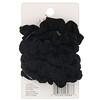 Scunci, Mini Twisters, Black, 6 Pieces