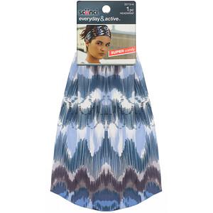 Scunci, Everyday & Active, Printed Headwrap, Super Comfy, 1 Piece отзывы покупателей