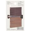 Scunci, No Slip Grip, Color Match Bobby Pins, Brunette, 50 Pieces