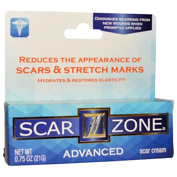 Scar Zone, Scar Cream Advanced, 0、75 oz (21 g)