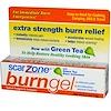 Scar Zone, Burn Gel, Topical Analgesic & Antiseptic, 0.5 oz (14 g) (Discontinued Item)