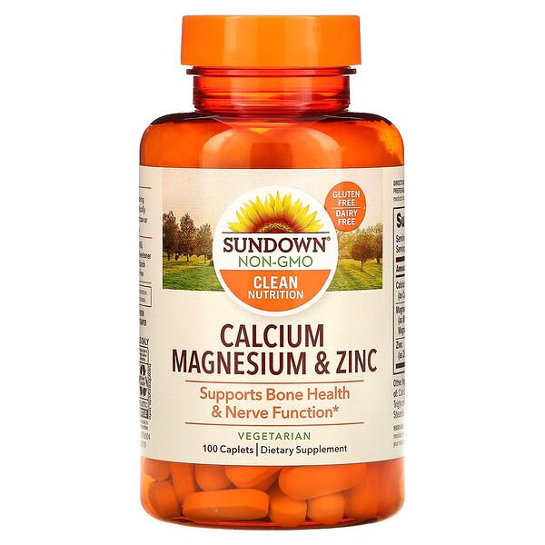 Calcio, magnesio y zinc, 100comprimidos