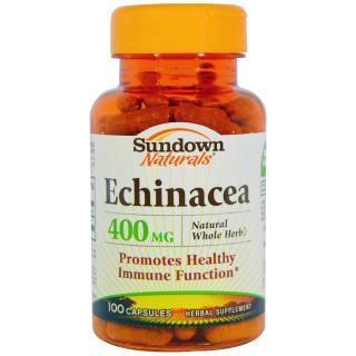 Sundown Naturals, Echinacea, 400 mg, 100 Capsules