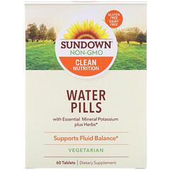 Sundown Naturals, Water Pills, 60 Tablets