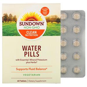 Сандаун Нэчуралс, Water Pills, 60 Tablets отзывы покупателей