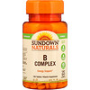 Sundown Naturals, B-Complex, 100 Tablets