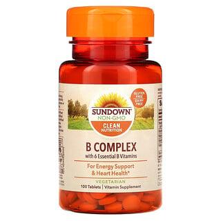 Sundown Naturals, ComplejoB, 100comprimidos