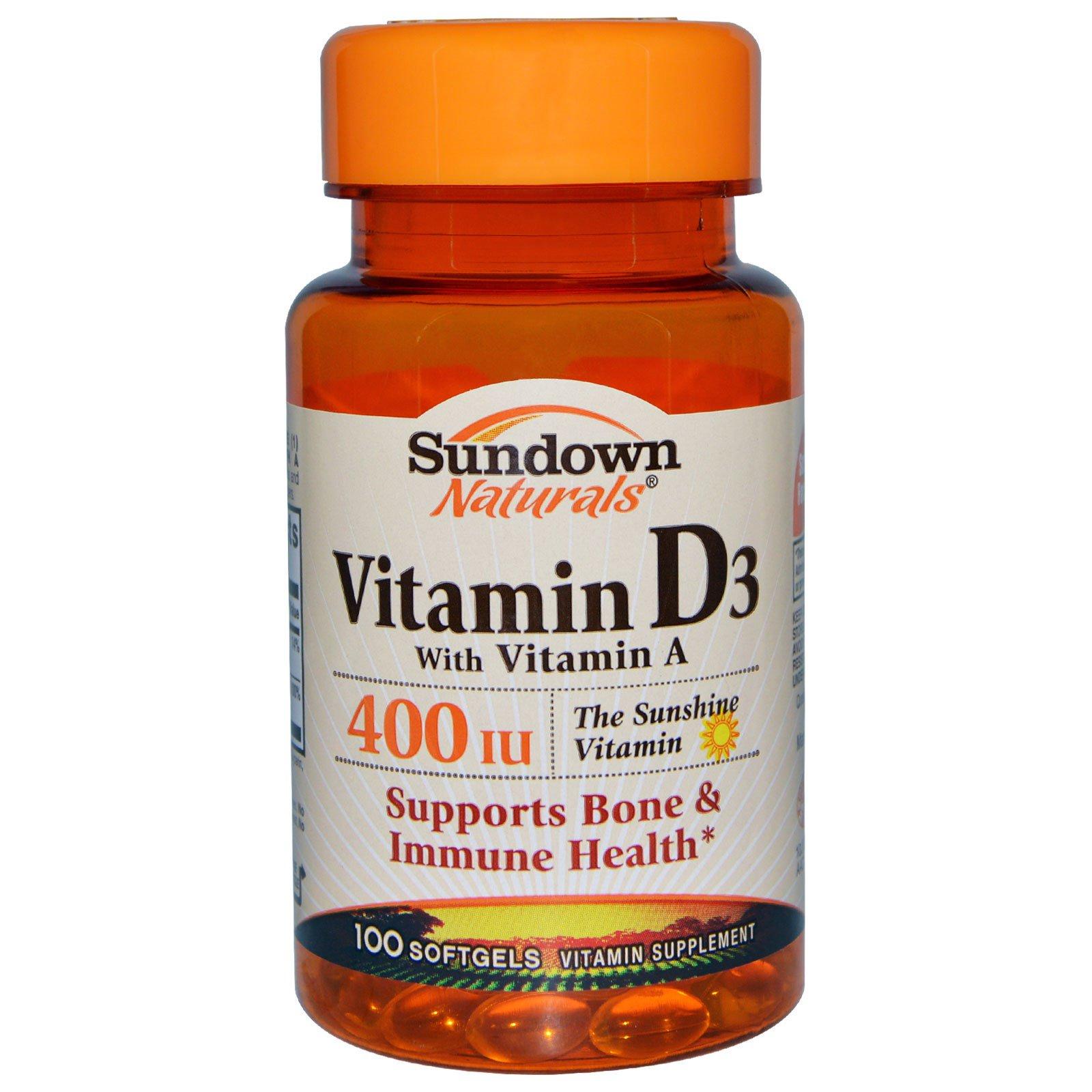 Sundown vitamins