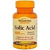 Sundown Naturals, Folic Acid, 800 mcg, 100 Tablets