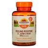 Sundown Naturals, Feeling Positive, Hierba de San Juan, 150 mg, 150 cápsulas