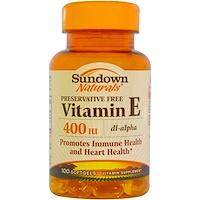 Rexall Sundown Naturals Vitamin E Oil