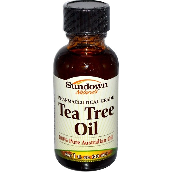 Sundown Naturals, Tea Tree Oil, 1 fl oz (30 ml) (Discontinued Item)