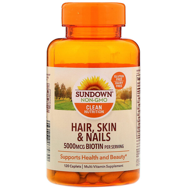 Hair, Skin & Nails, 120 Caplets