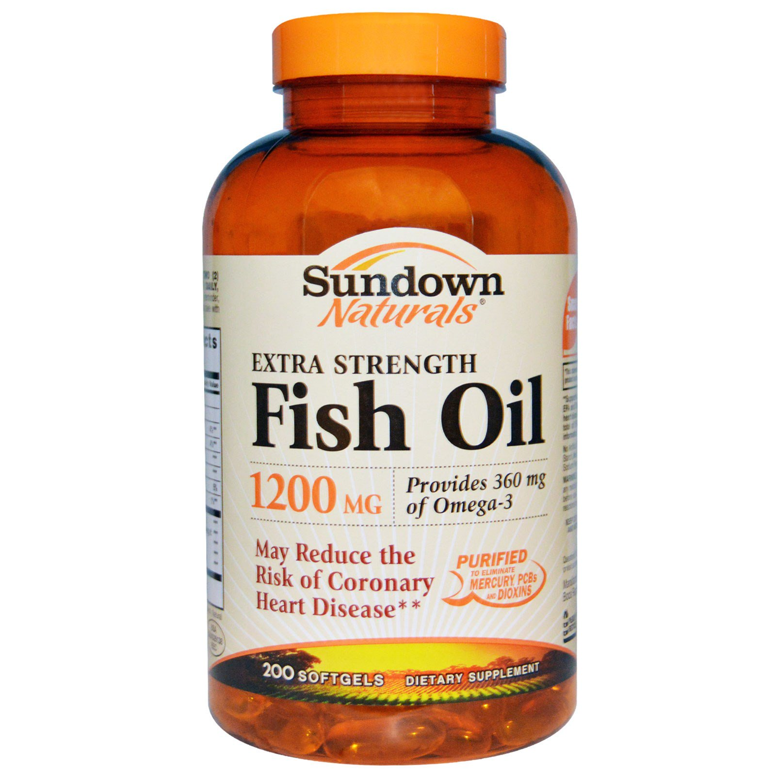 Sundown Naturals Extra Strength Fish Oil Reviews