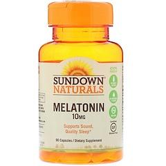 Sundown Naturals, Melatonin, 10 mg, 90 Capsules